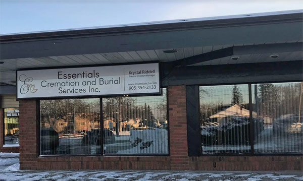 Essentials cremation and burial