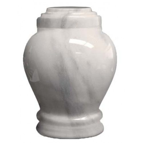 Embrace white full size-500x500 urn